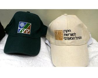דוגמא של כובעים רקומים