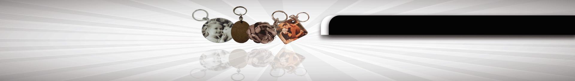מחזיקי מפתחות מעוצבים - פרספקס ועץ