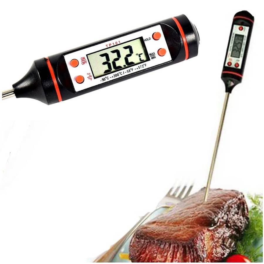 מד חום דיגיטלי למזון יבש/נוזל – קומפקטי ומדויק,TSGT-082