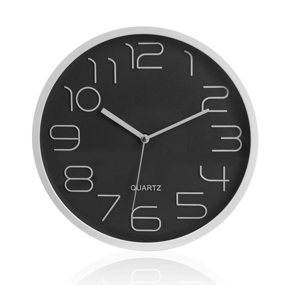 """אומגה - שעון קיר עם מנגנון שקט קוטר 30 ס""""מ"""