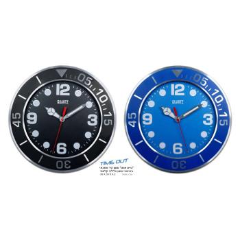 שעון קיר מתכתי דמוי שעון צלילה
