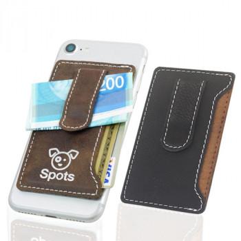 נרתיק כרטיסי אשראי הנצמד לנייד