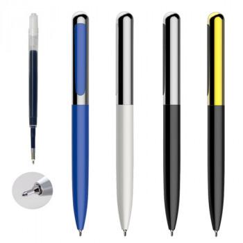 עט מתכת חוד מחט פתיחת סיבוב פטנט ומילוי ג'ל ענק