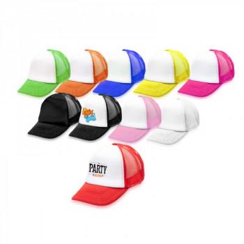 כובע מצחיה רשת בשילוב בד מיקרופייבר סגר תיק-תק לילדים, TSK-2212