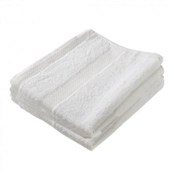 מגבת גוף 100% כותנה 420 גרם עם עיטור, TSK-7510