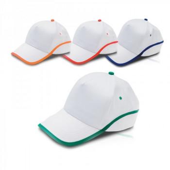 """כובע מצחיה, 5 פאנל 100% כותנה סגר סקוץ' מידה 59 ס""""מ, TSK-2145"""