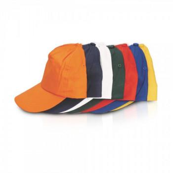 כובע מצחיה, 5 פאנל, 100% כותנה, TSK-2020