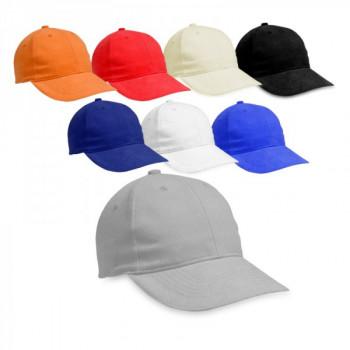 כובע מצחיה, 6 פאנל 100% כותנה סרוקה, TSK-2210