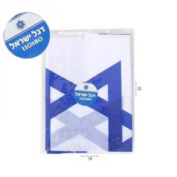 דגל ישראל 80X110 למקל , TSW-15141