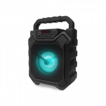 בידורית קריוקי בלוטוס ניידת עם תאורת דיסקו, rasta-4