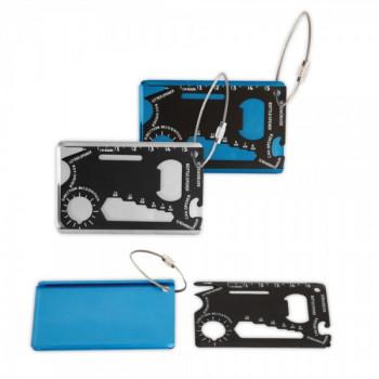 מולטיטול, ערכת כלים בגודל כרטיס אשראי עשוי מתכת, TSK-1216