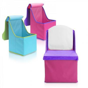 כיסא ישיבה מתקפל לילד עם מקום לאחסון, TSK-8047