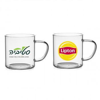 כוס זכוכית עם ידית, TSM-0575