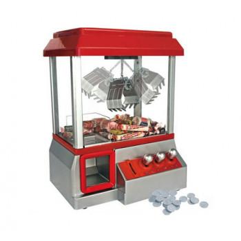 מכונת ממתקים והפתעות עם זרוע לשליפה של מתנות