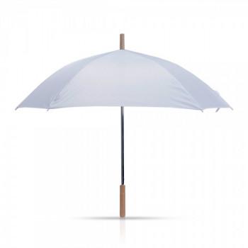 מטריה מרובעת עם מוט עץ ,23 אינץ', TSK-6861