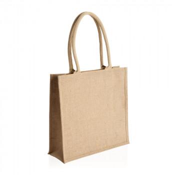 תיק מעוצב עשוי בד דיוט עם ידיות קשיחות