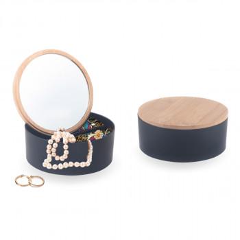 קופסת תכשיטים עם מראה