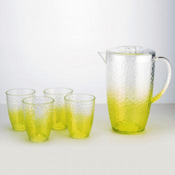 סט קנקן 2.3 ליטר ו 4 כוסות