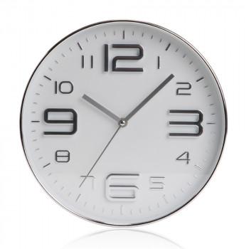 """בריג' - שעון קיר עם מנגנון שקט קוטר 30 ס""""מ"""