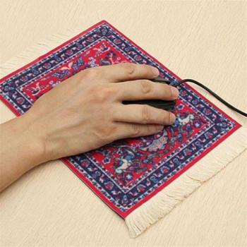 פד לעכבר מעוצב דמוי שטיח