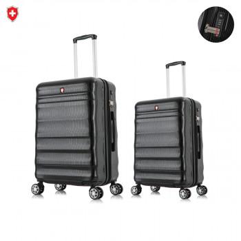 סט של 2 מזוודות יוקרתיות