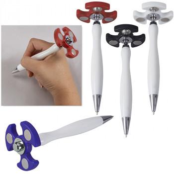 עט פלסטיק עם ספינר tza-4235